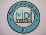 Recommandé par l'émission Midi en France