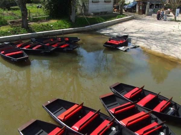Le port de l'embarcadère de la Venise Verte