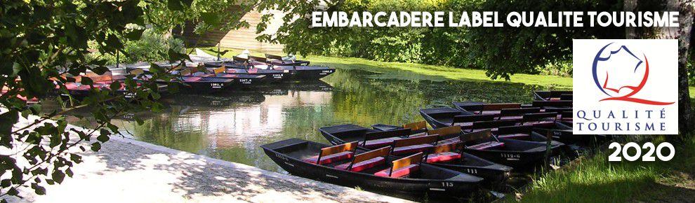 Embarcadère label Qualité Tourisme