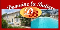 Logo Domaine la Batière