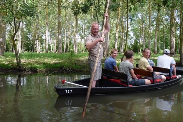 Visite guidée pour les groupes dans le marais poitevin