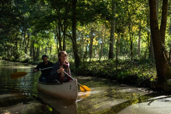 Balade en canoë dans le Marais Poitevin