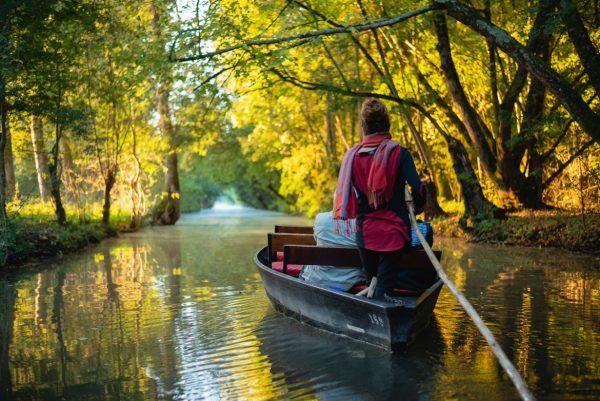 Promenade en barque sur la Venise Verte du Marais Poitevin