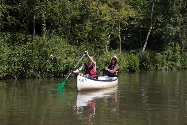 Balade en canoë sur la Venise Verte