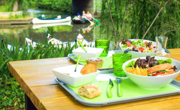 plats restaurant marais poitevin La venise Verte